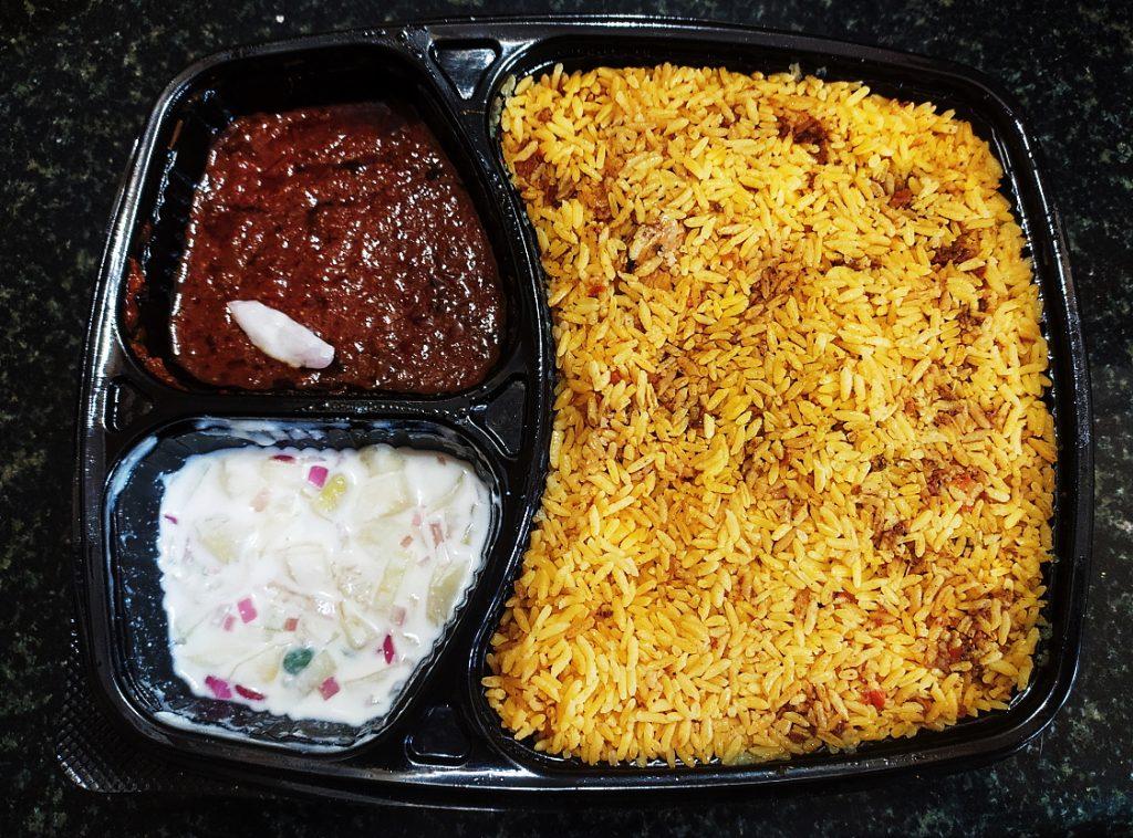 Bengaluru Chicken Biryani - La Zizone Restaurant
