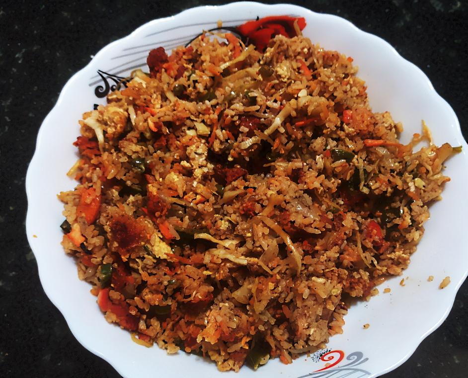 Chicken Fried Rice - La Zizone Restaurant