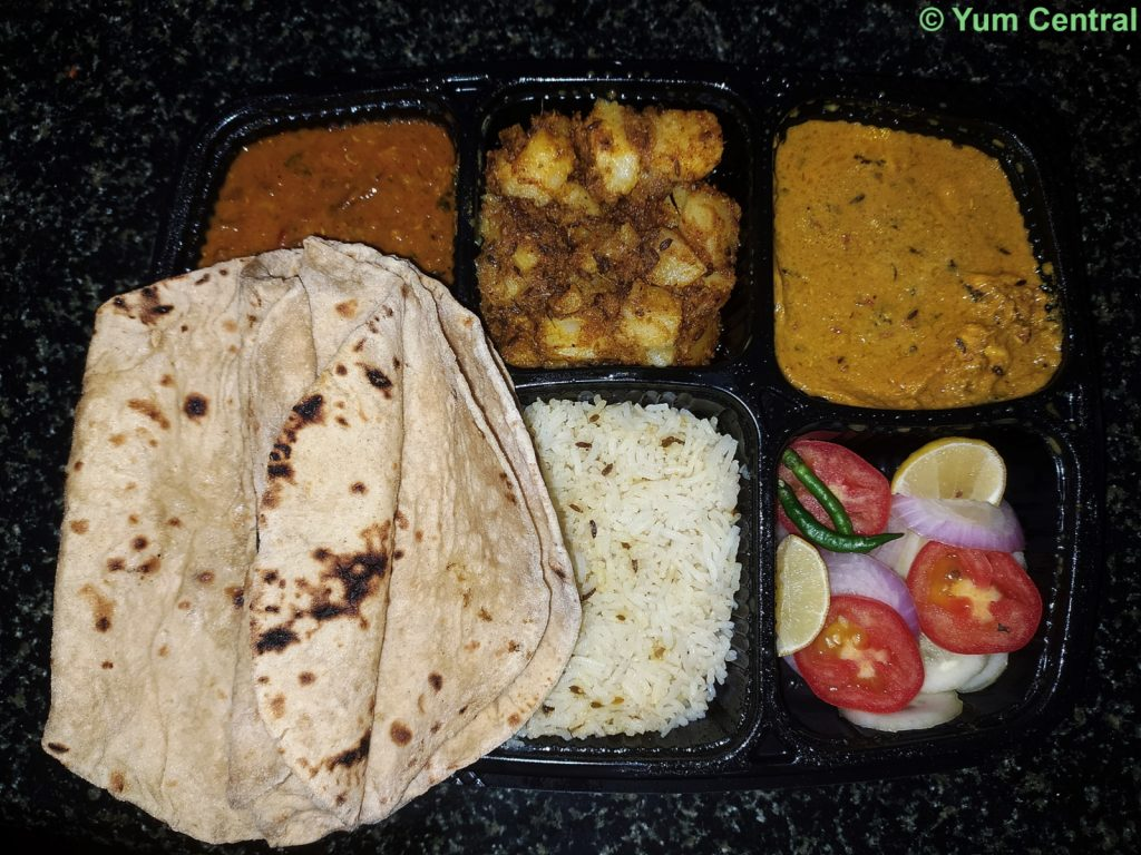 Thali @ The Food Adda