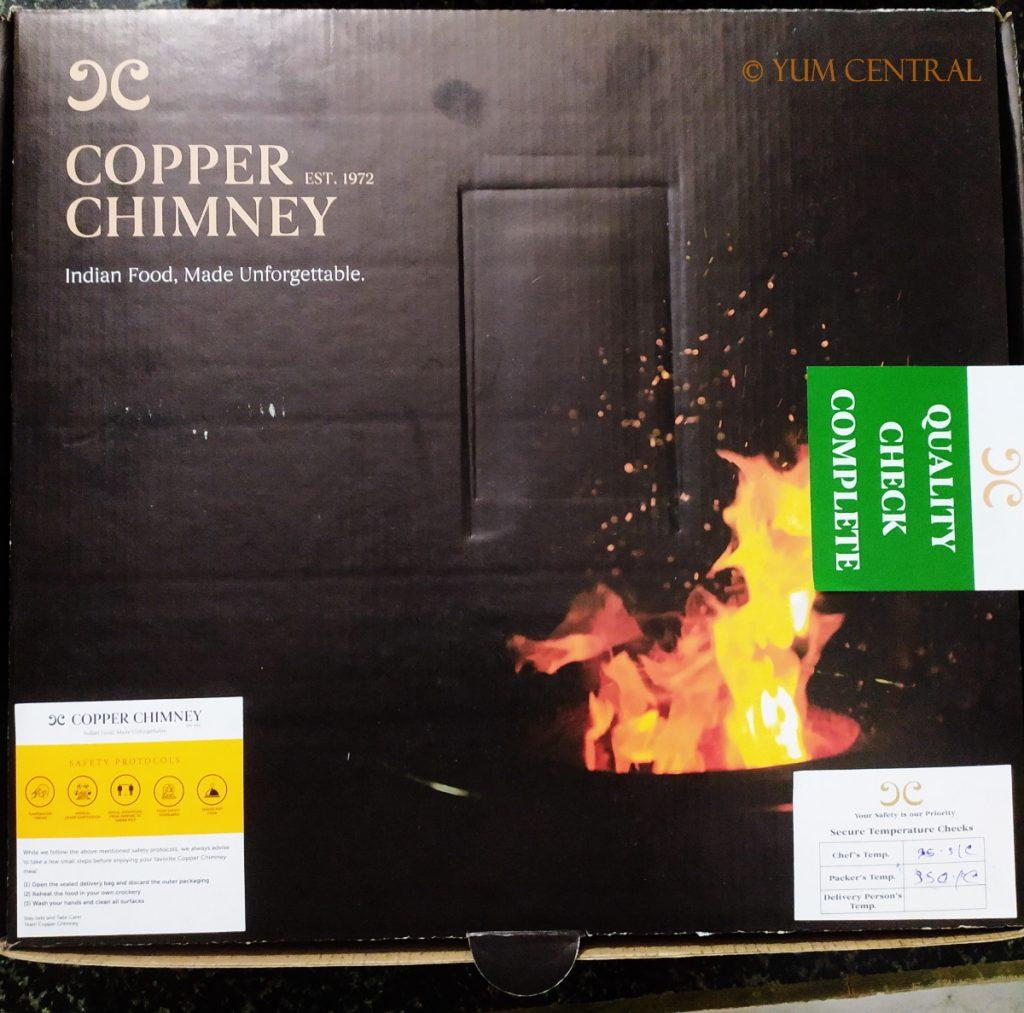 Mutton Biryani Meal Box @ Copper Chimney